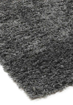 Alpine Charcoal Grey Shaggy Rug