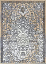 Allure Distressed Vintage Light Grey Beige Rug