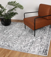 Anatolia Traditional Black Grey Rug