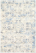 Expressions Navy Blue Ikat Rug