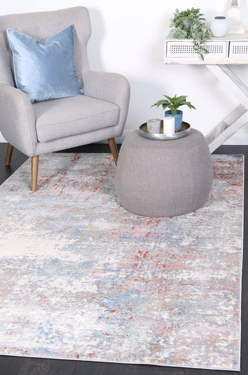 Expressions Multi Colour Modern Rug
