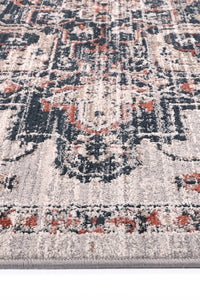 Ankara Oriental Light Grey Rug