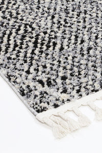 Micha Black Grey Kanani Rug