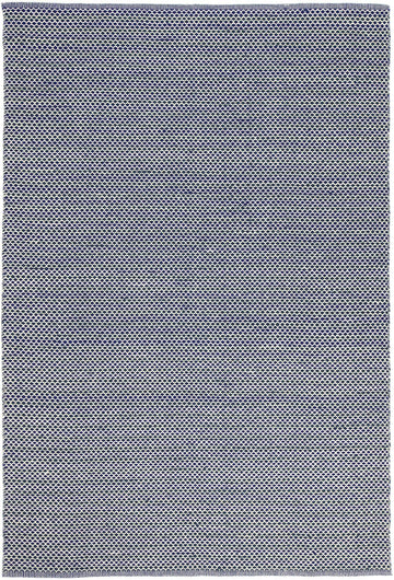 Natura Wool Blue Striped Rug