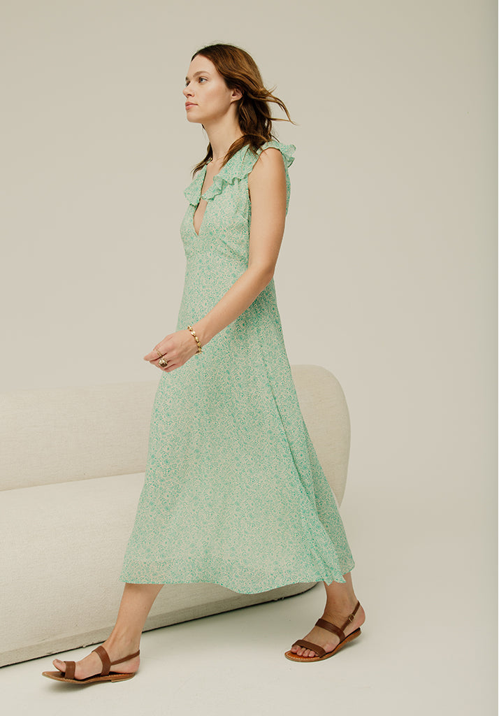 Arabella Dress Meadow Jade