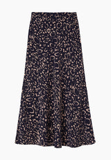 Clara Skirt Ocelot Midnight
