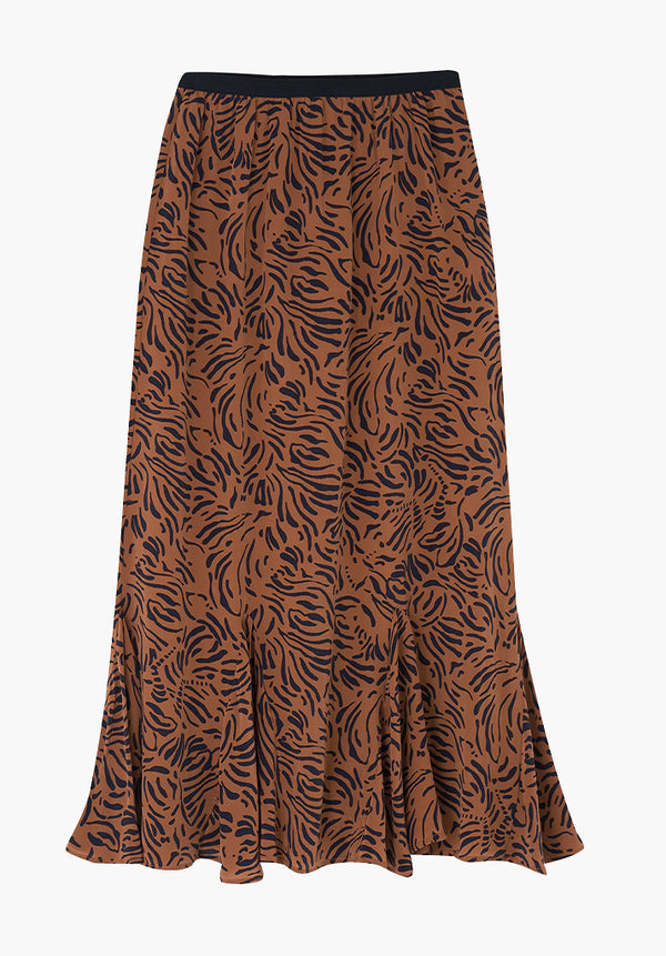 Ford Skirt Zebra Tobacco