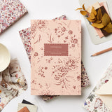 Heirloom Garden Floral Lay Flat Notebook