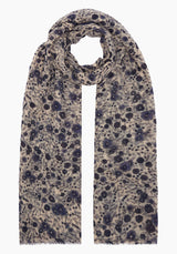 Light Aster Cashmere Scarf