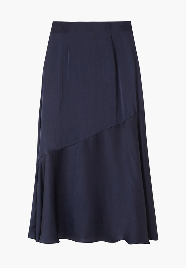 Lottie Skirt Oxford Navy