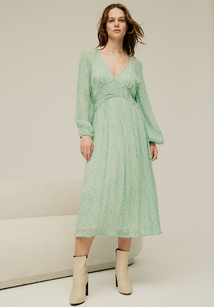 Phoebe Dress Meadow Jade