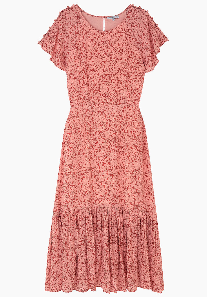 Rae Dress Silhouette Blush
