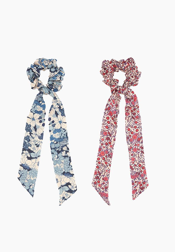 Bloom & Wild Rose Hair Ties Set of 2