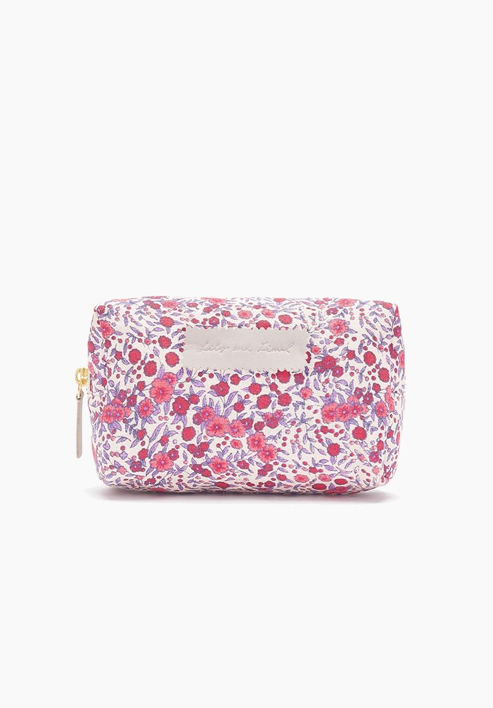 Wild Rose Cosmetic Bag