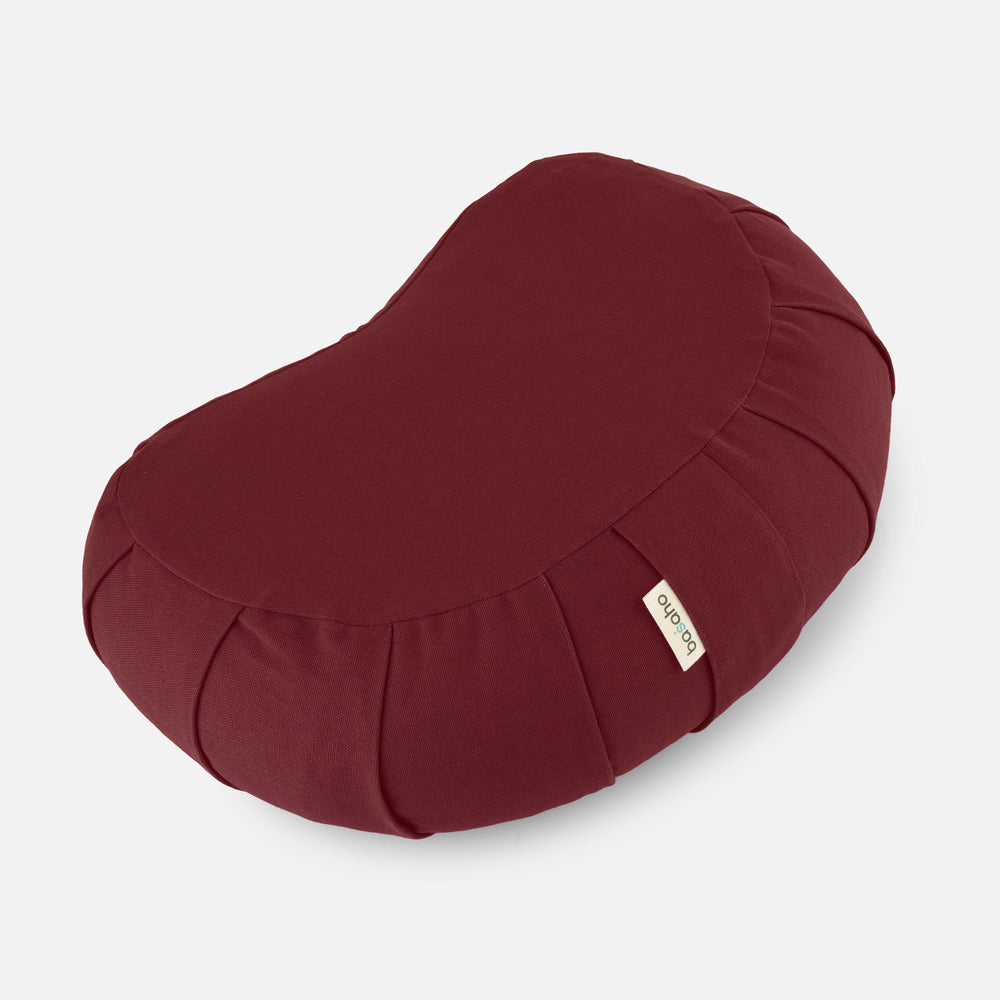 Load image into Gallery viewer, Crescent Zafu Meditation Cushion