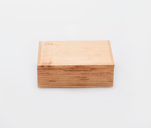 Azmaya Cherry Wood Butter Dish