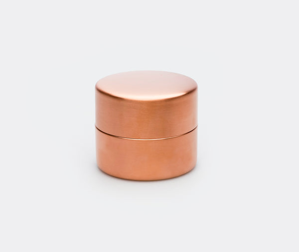 Azmaya Copper Tea Caddy Small