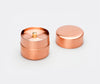Azmaya Copper Tea Caddy Small 2