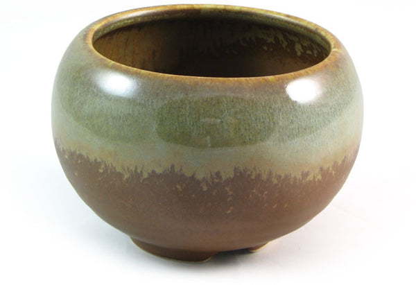 Zen Minded Glazed Ceramic Incense Bowl Desert Sage