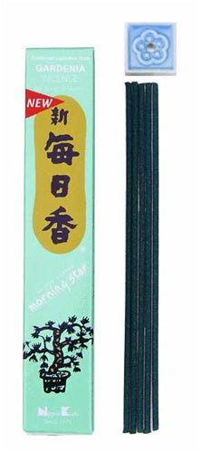 Nippon Kodo Morning Star Incense Sticks Gardenia