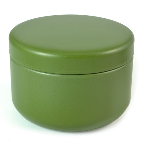 Zen Minded Travel Size Tea Caddy Green