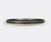 Hasami Porcelain Plate Black 220x21mm