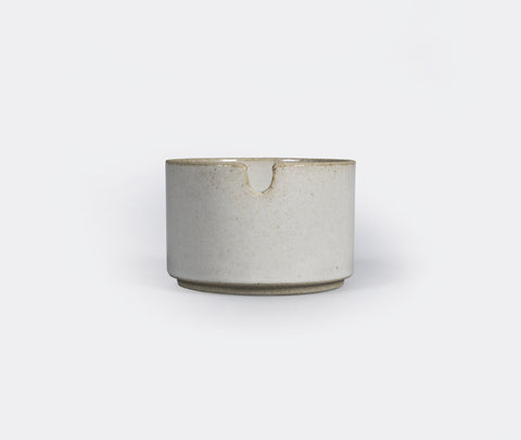 Hasami Porcelain Sugar Pot Clear 85x55mm