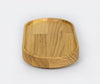 Hasami Porcelain Tray Ash Wood 170x85x21mm 2