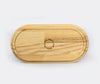 Hasami Porcelain Tray Ash Wood 170x85x21mm 3