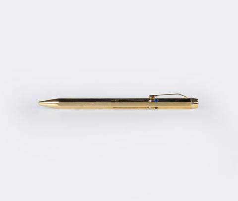 Hightide 4 Colour Ball Point Pen Gold