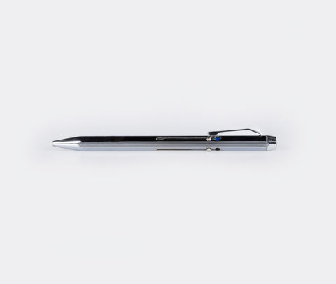 Hightide 4 Colour Ball Point Pen Silver