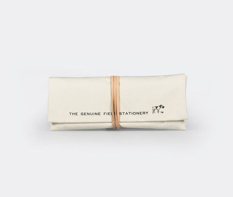 Hightide Field Roll Pencil Case White