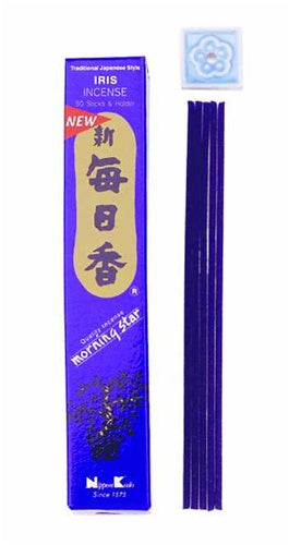 Nippon Kodo Morning Star Incense Sticks Iris