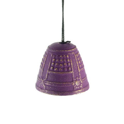 Iwachu Purple Temple Bell Wind Chime