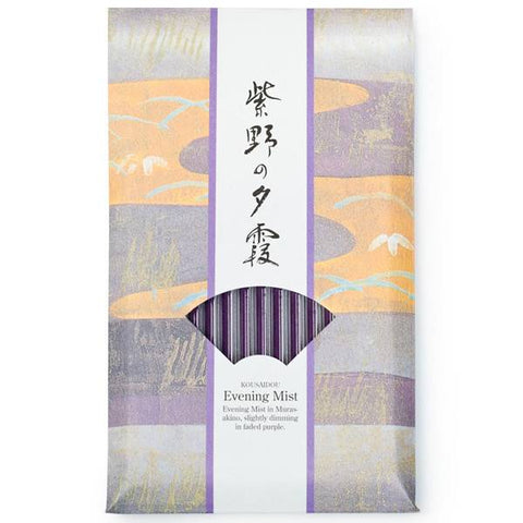 Kousaido Evening Mist Jasmine Incense Sticks