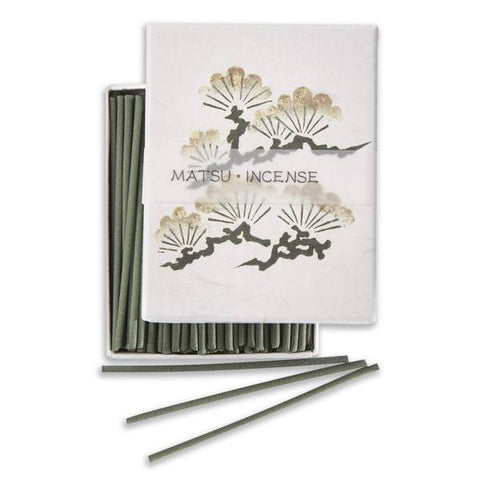 Kousaido Hanga Pine Incense Sticks