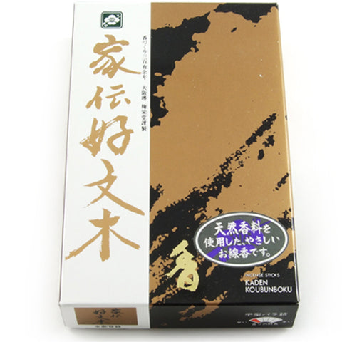 Baieido Kaden Kobunboku Spicy Incense Sticks