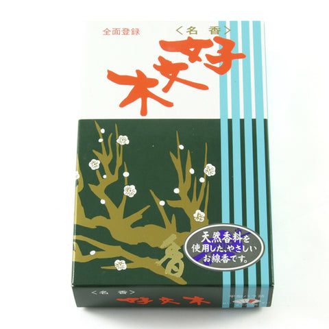 Baieido Kobunboku Incense Sticks Large Box