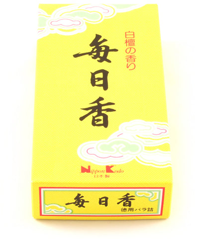 Nippon Kodo Mainichi Koh Sandalwood Incense Sticks