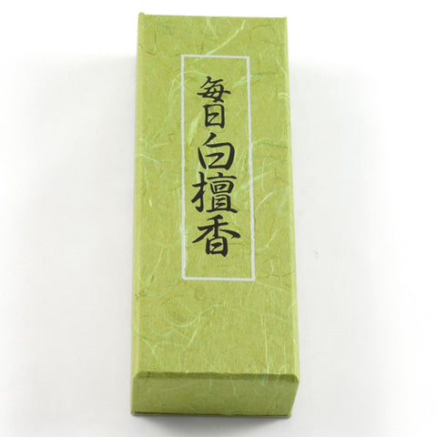 Nippon Kodo Mainichi Byakudan Incense Sticks Large Box