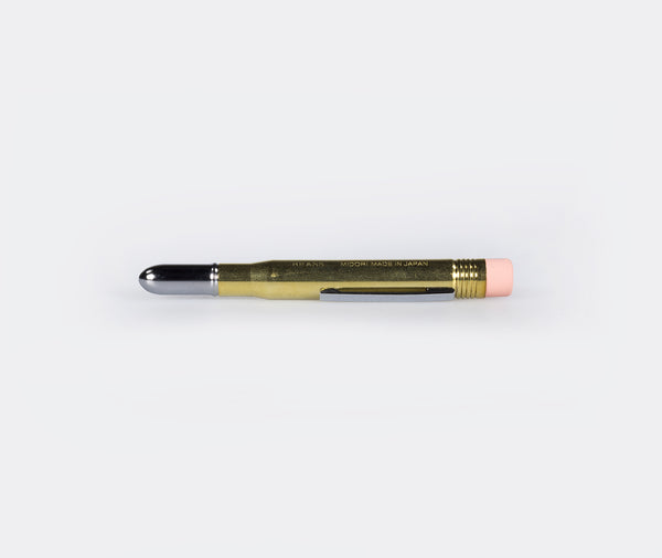 Traveler's Company Bullet Pencil Brass