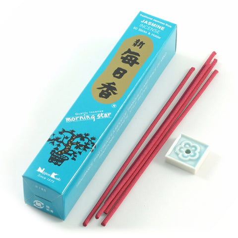 Nippon Kodo Morning Star Incense Sticks Jasmine