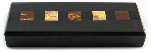 Zen Minded Cherry Wood Pen Box