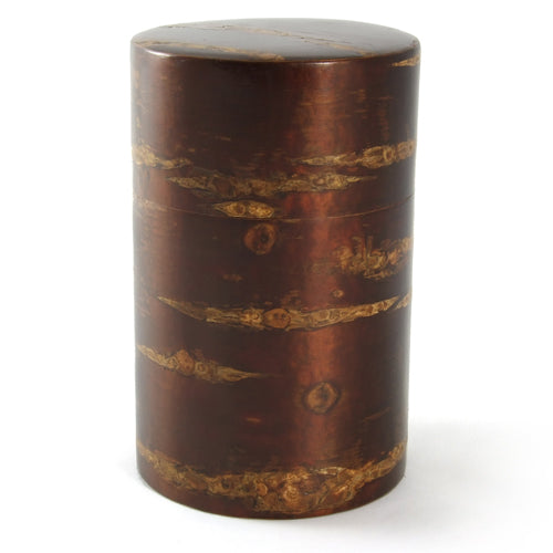 Zen Minded Polished Cherry Bark Tea Caddy