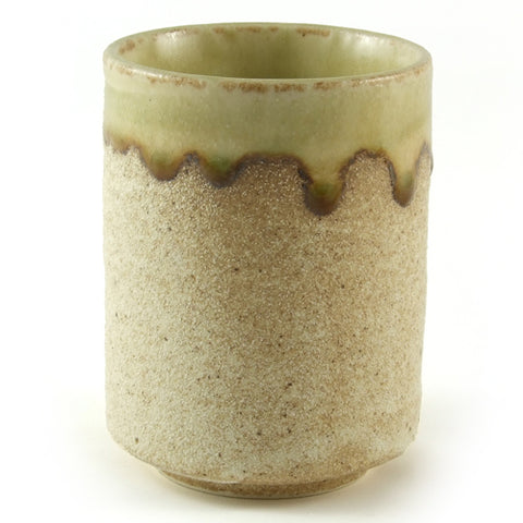 Zen Minded Sand Glaze Ceramic Tea & Coffee Cup