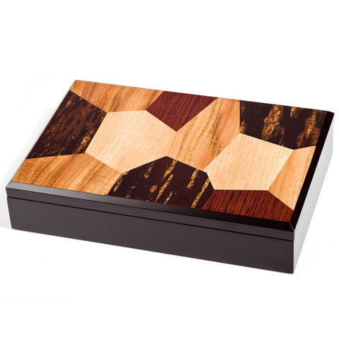 Zen Minded Cherry Wood A4 Size Box