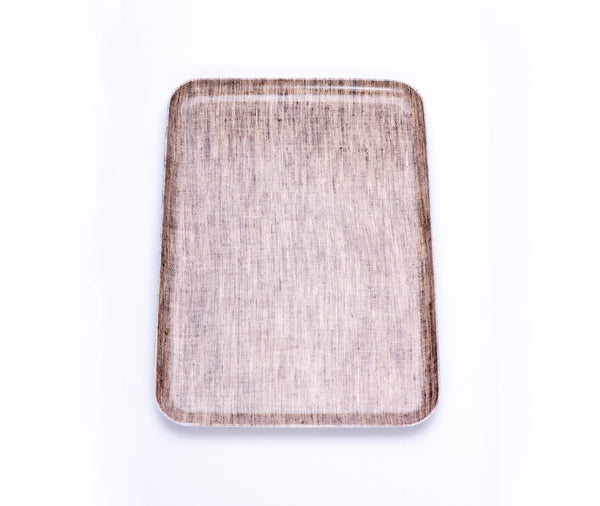 Fog Linen Linen Tray Natural Medium