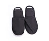 Fog Linen Linen Slippers Graphite Large 4