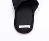 Fog Linen Linen Slippers Graphite Large 5