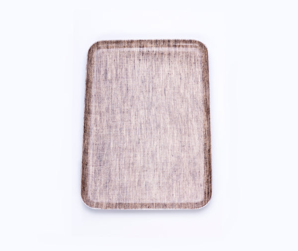 Fog Linen Linen Tray Natural Large
